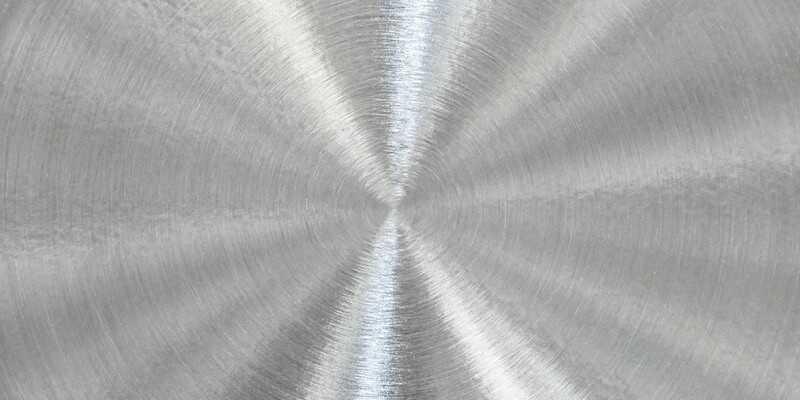 texture of brushed aluminum